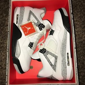 Air Jordan 4 Retro OG 'White Cement' 2016